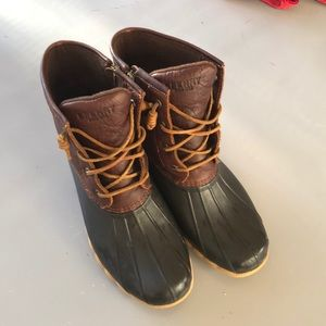 Sperry salt water duck boots